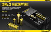 High Quality Nitecore i2 smart charger for 18650 26650 14500 16340 AA AAA AAAA li-ion Ni-Mh battery