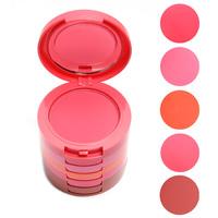 Professional Makeup 5 Colors Makeup Blush Face Blusher Powder Palette Cosmetics AL03