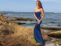 Hot fashion bohemian style ladies long maxi dress strapless bodycon bandage dress casual dress