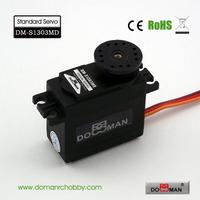 DOMAN RC DM-S1303MD 56g/0.16s/13.5kg.cm metal gear 300degree robot used 13kg digital servo