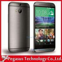 M8 Original Unlocked HDC ONE M8 Quad Core Mobile phone 4G LTE Android 4.4 5.0 inch 2GB RAM 16GB 32GB ROM 3 Camera Free Shipping