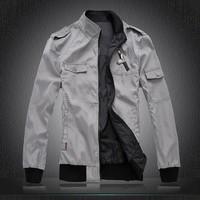 2014 brand new fashion casual men's jacket / Men leisure cardigans jacket