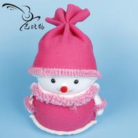 Snowman doll christmas decoration toys girls Christmas decoration christmas bobby yarn
