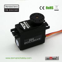 DOMAN RC DM-S0603MD 56g/0.14s/6.5kg.cm metal gear 300degree robot used 6kg digital servo