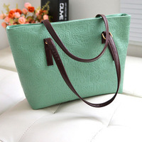 Cotton Flax Miss Han Ban big bag PU retro Oracle minimalist shoulder bag hand handbag