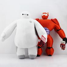 40 CM de gran tamaño héroe 6 Baymax felpa muñecas la Baymax felpa juguetes blanco y rojo para elegir entrega gratuita(China (Mainland))