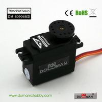DOMAN RC DM-S0906MD 56g/0.15s/10kg.cm metal gear 360degree robot used 9kg digital servo