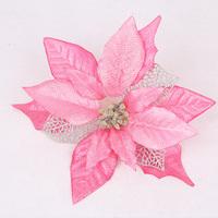 Christmas flower Artificial flower christmas rattan decoration accessories sticky powder