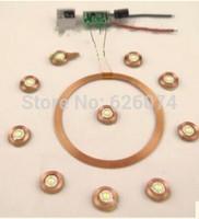 free china post shiping Micro 100mm wireless power receiving long-distance wireless transmission     wireless charging module