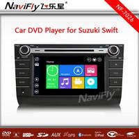 Win 8 menu  powerful CPU MTK3360NCG Car autoradio  GPS navigation player for Suzuki Swift with buletooth radio 1080p video