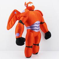 40CM The big hero 6 Orange Baymax plush dolls Hiro's friend Baymax plush toy