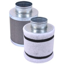 """4"""" 150CFM Hydroponic Air Carbon Filter Odor Control Scrubber for Inline Exhaust(China (Mainland))"""
