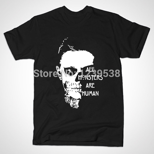 Мужская футболка Men T Shirt , t All Monsters Are Human bxgd men s unique t shirt tom cruise deepheather