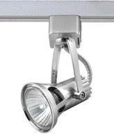 GU10 LED spotlight  Aluminium spot for 3 wire track light free shipping