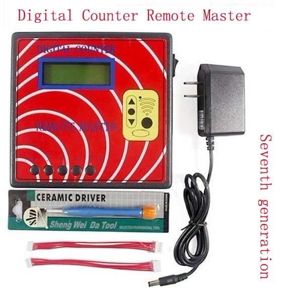 FREE SHIPPING Seventh generation Digital Counter Remote Master vehicle locksmiths tool Duplicator .(China (Mainland))