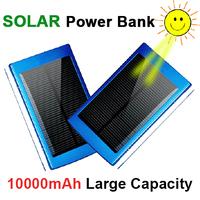 5 Color ! 10000mah / 30000mah Dual USB Solar Charger Portable Power Bank External Battery Bank for Apple iPhone Samsung
