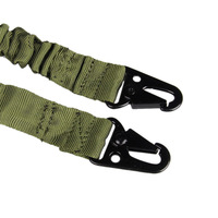 2 Point Adjustable Bungee Rifle Gun Sling System Strap