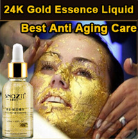 Luxury Face Care Anti-Aging 24 Gold Revive Essence Liquid Moisture Anti Wrikle Firming Skin Serum Cream 30ML Daily Lotion