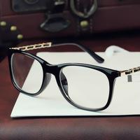 2014 New Metal Men&Women decoration Brand Optical Frame Plain Glasses Eyewear Eyeglasses Spectacles Frame Glasses Gafas