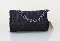 Genuine Leather Fashion Women Diamonds Messenger Bags Pure Sheepskin Leather Handbags Shoulder Bags