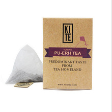 Puer Tea Whole Leaves Tea in Pyramid Tea Bags 8 pieces in a bag Free shipping