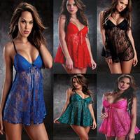 Plus Size XXL Lingerie 6 Colors Sexy Women Erotic Lingerie Hot Sale Langerie Babydoll Sexy Underwear Pajamas For Women Sleepwear