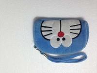 Clearance sale zip pocket wristlet pouch purse mini bag blue last one