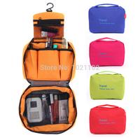Fashion Travel Wash Bag Storage Case Large Capacity Cosmetic Bags Outdoor Hanging Sorting Bags Waterproof Handbag