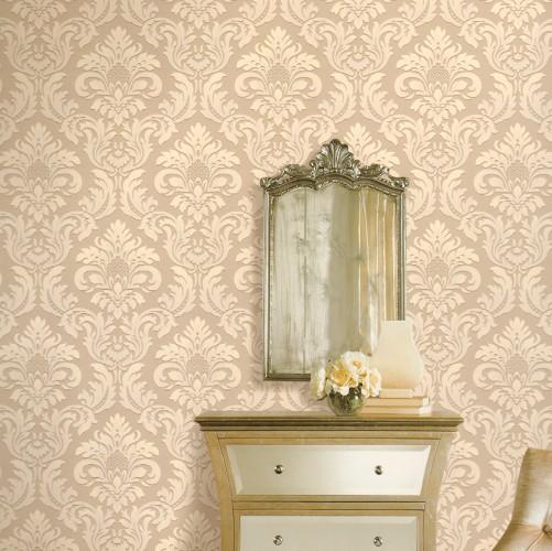 2014 nouvelle Continental de luxe fleur murale papier