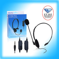 Wired Gaming Headset with MIC and volume Control For Playstation 4 PS4