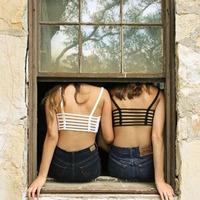 Alipower 1PC Sexy Crop Tops Women Strap Blouse Vest Cut Out Shirt Summer Beach Tank Freeshipping