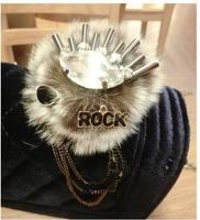 2014 winter new arrival chain brooch multi element accessories