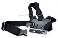 Adjustment Base Mount + Adjustable Elastic Body Chest Strap Shoulder Belt for GoPro HD Hero 1 2 3