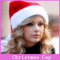 1x Adult Christmas Hat Caps Santa Claus Father Xmas Cotton Cap Christmas Gift Retail Christmas gift