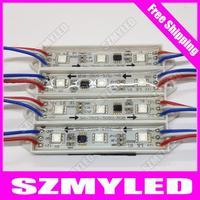 20 pcs Full Color Power LED Module Light 5050 3LED UCS 1903IC Waterproof Glue DC12V 0.72W IP65  LED Sign Letter