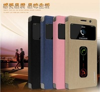 100% Brand New Flip Cover  PU leather Case For Lenovo Vibe X2 Mobile Phone , Free Shipping