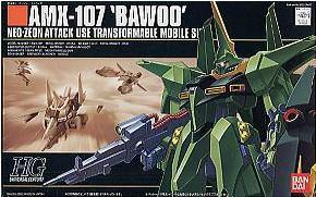 Bandai HGUC 031 1/144 Bawoo AMX-107 mass production Gundam Model Kit(China (Mainland))