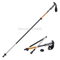 Naturehike Light Weight   Folding Alpenstocks Outdoor Hiking Walking Stick Ultralight Trekking Pole NH00D004-D