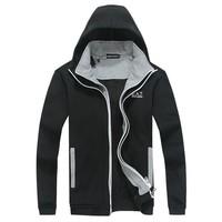 2014 New Men's stylish brand jacket / Leisure100 cotton slim long-sleeve winter coats