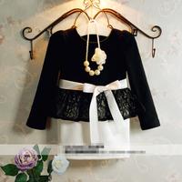 Girls lace dress, girl dress princess,5pcs/lot   XJ01