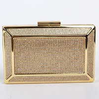 2015 Luxury gold Rhinestone evening bag of women's bags for business party bag day clutch envelope 2014 clutch bags 8231K