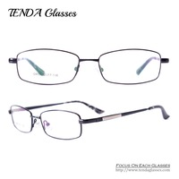 Metal Full Rim Eyewear Optical Frame Men Spectacles For Prescription Lens Myopia & Reading