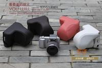 Leather Case Bag for  NEXC3 NEX-C3 NEX 18-55mm Lens black or brown