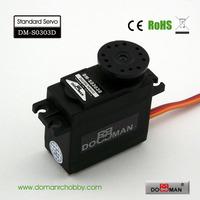 DOMAN RC DM-S0303D 38g/0.13s/3kg.cm POM gear 300degree robot used 3kg digital servo
