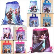 Free shipping frozen princess environment string bag swimming toys clothes(China (Mainland))