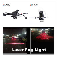 Practical Auto Anti-collision Laser Fog Lamp Anti-fog Rainproof Car LED Warning Light for all Cars Driving