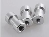 100pcs/lot 1/4  - 3/8 screw  1/4 female to 3/8 female Spigot convert Adapter Screw Threaded to Light Stand