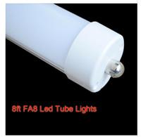150pcs/lot  High Brightness 2400mm 192 LED Tube light FA8 single pin T8 SMD 2835 LED fluorescent tube light lamp 8ft 4000LM