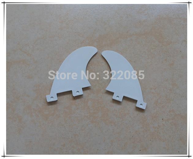logo normal fin white Plastic/Nylon GL surfboard fin side fins(China (Mainland))
