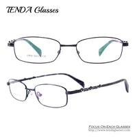 Fashion Metal Men & Women Eyewear Optical Frame Eye Glasses For Prescription Lens